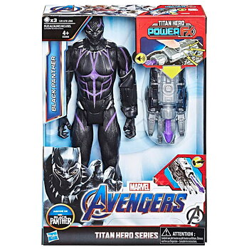 Marvel Black Panther Titan Hero Power FX Figur 30cm