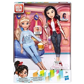 Disney Raph Breaks the Internet Cinderella + Mulan set 2 dolls