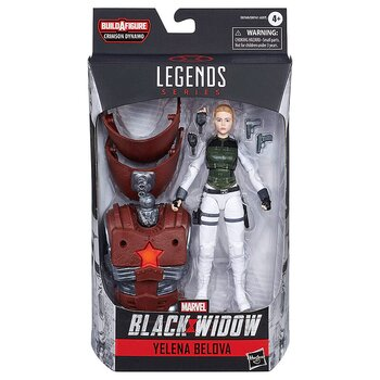 Marvel Black Widow Yelena Belova Legends Figur 15cm
