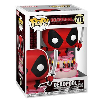 Marvel Deadpool 30th Anniversary POP! Actionfigur Deadpool in Cake 9 cm