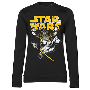 Star Wars - Vader Intimidation Girly Sweatshirt