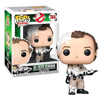 POP figure Ghostbusters Dr. Peter Venkman Marshmallow Exclusive