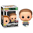 POP Figur Rick and Morty - Morty with Laptop Exclusive