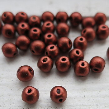 RoundDuo® Mini - Copper 4mm, 50-pack