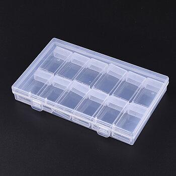 Förvaring pärlor - Låda med  12mindre askar 1 förpackning