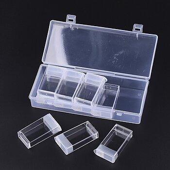 Förvaring pärlor - Låda med 10 mindre askar 1 förpackning
