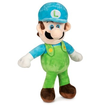 Super Mario Bros Blue Luigi soft plush toy 35cm
