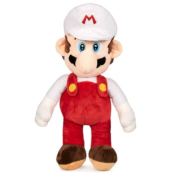 Super Mario Bros White Mario soft plush toy 35cm