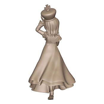 Is the Order a Rabbit? Season 3 PVC Staty Cocoa Chess King Ver. 20 cm