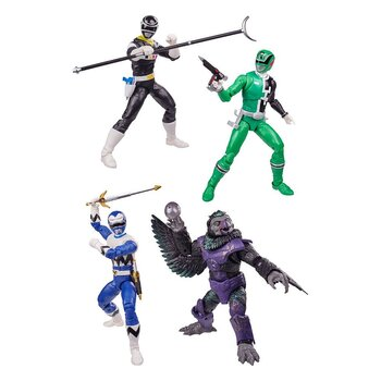 Power Rangers Lightning Collection Actionfigurer 15 cm 2021 Wave 3 Assortment (8)