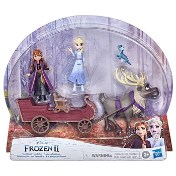 Disney Frost 2 sledding Friends set Figur