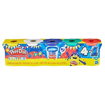 Play-Doh Party set 4 + 1 cans