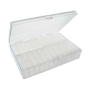 Pärlförvaring  - Ask för flip top med 24 askar 1 styck