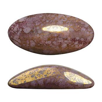 Athos® par Puca® - Opaque Amethyst Bronze 20x10mm, 1 styck
