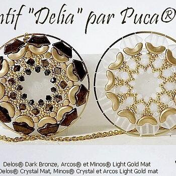 Mönster Hänge Pendant - Delia