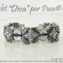 Mönster Armband - Diva