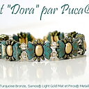 Mönster Armband - Dora