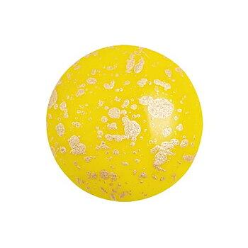 Cabochon par Puca® - Opaque Jonquil Splash 18 mm, 1 styck