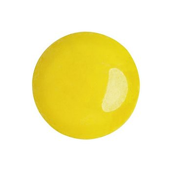 Cabochon par Puca® - Opaque Jonquil Luster 18 mm, 1 styck