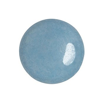 Cabochon par Puca® - Opaque Aqua Luster 18 mm, 1 styck