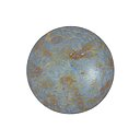 Cabochon par Puca® - Opaque Blue/Green Spotted 18 mm, 1 styck