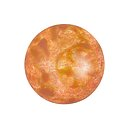 Cabochon par Puca® - Opaque Salmon Spotted 18 mm, 1 styck