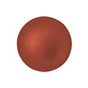 Cabochon par Puca® - Bronze Red Matte 18 mm, 1 styck