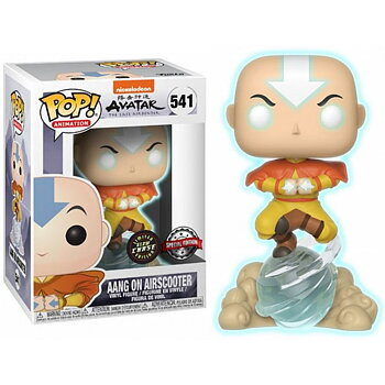 POP Figur Avatar Aang on Air Bubble Exclusive Glow Chase