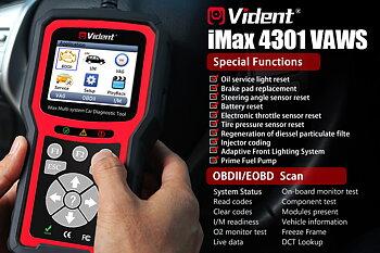 Felkodsläsare VIDENT iMax4301 VAG
