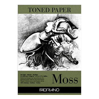 Toned Paper Moss, A4