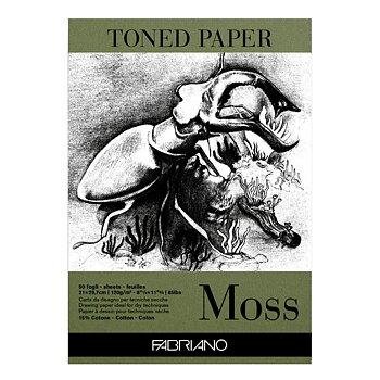 Toned Paper Moss, A3