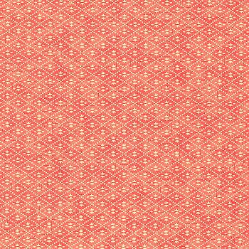 Vitfärgstryck, rosa/aprikos