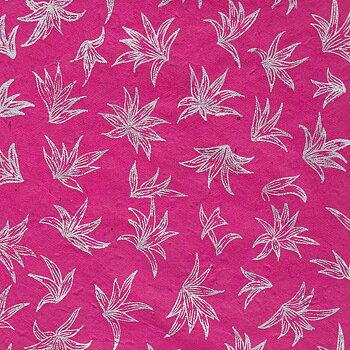 Silver Lily, fuchsia