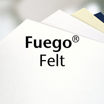 Fuego Felt white, 120g
