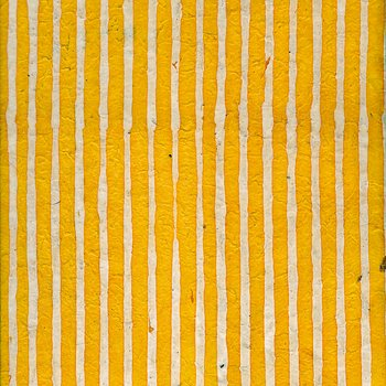 Batik with stripes, yellow