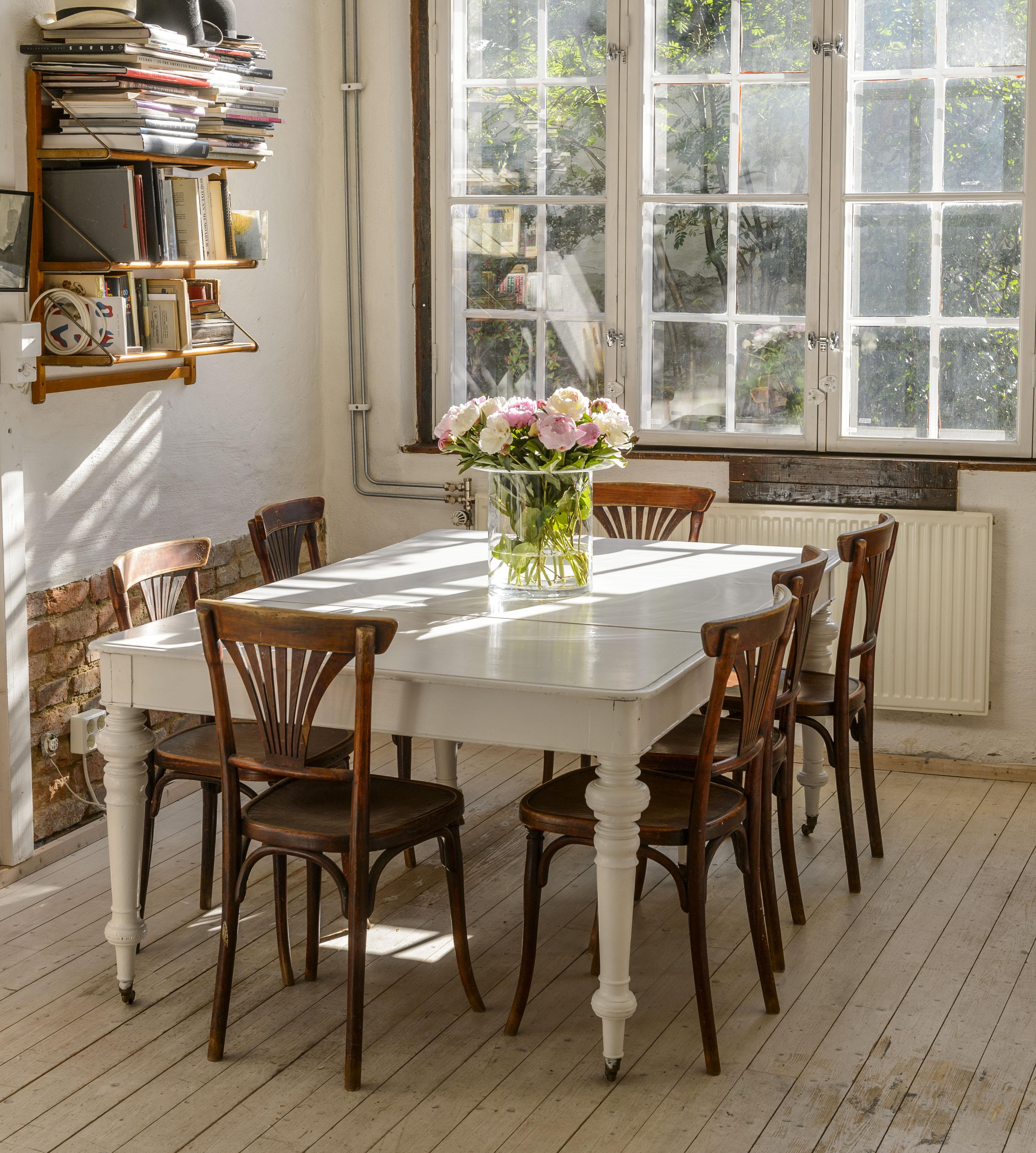 Butik Lanthandeln Stort unikt gammalt matbord SÅLT