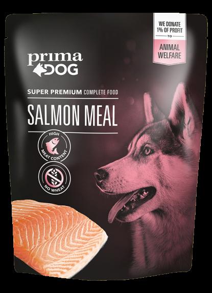 Prima Dog Lax Måltid 260 g – UTFÖRSÄLJNING