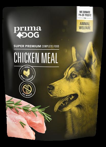 Prima Dog Kyckling Måltid 260 g – UTFÖRSÄLJNING