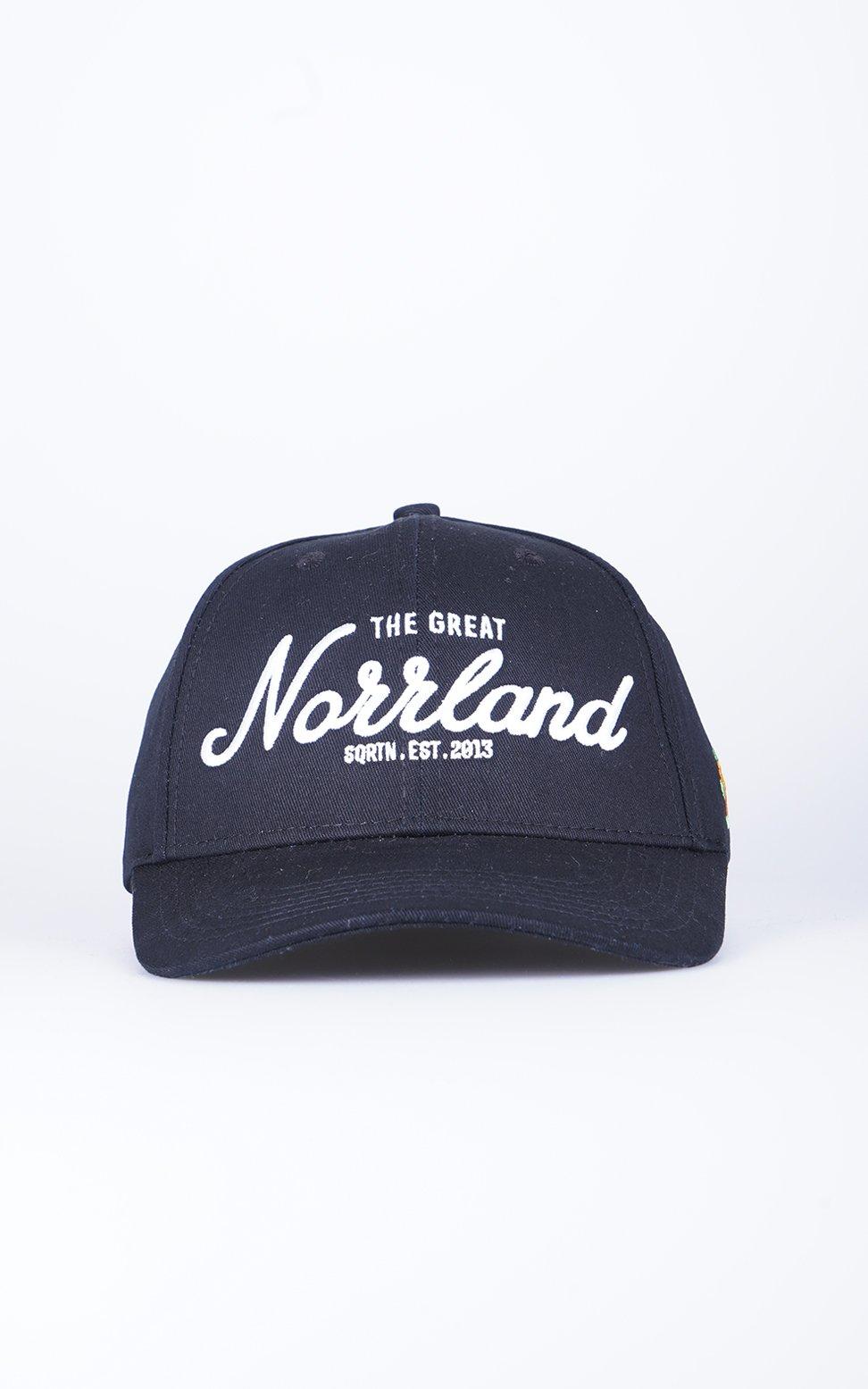 SQRTN Great Norrland Keps Hooked Black
