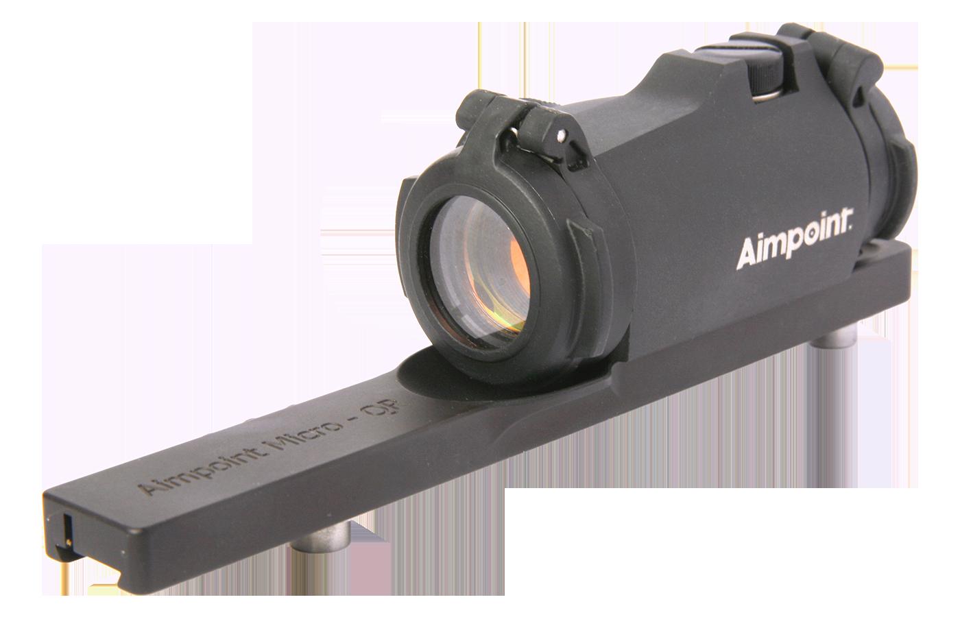 Rödpunktsikte Aimpoint Micro H-2 med Fäste för Leupold QR (Keps på köpet)