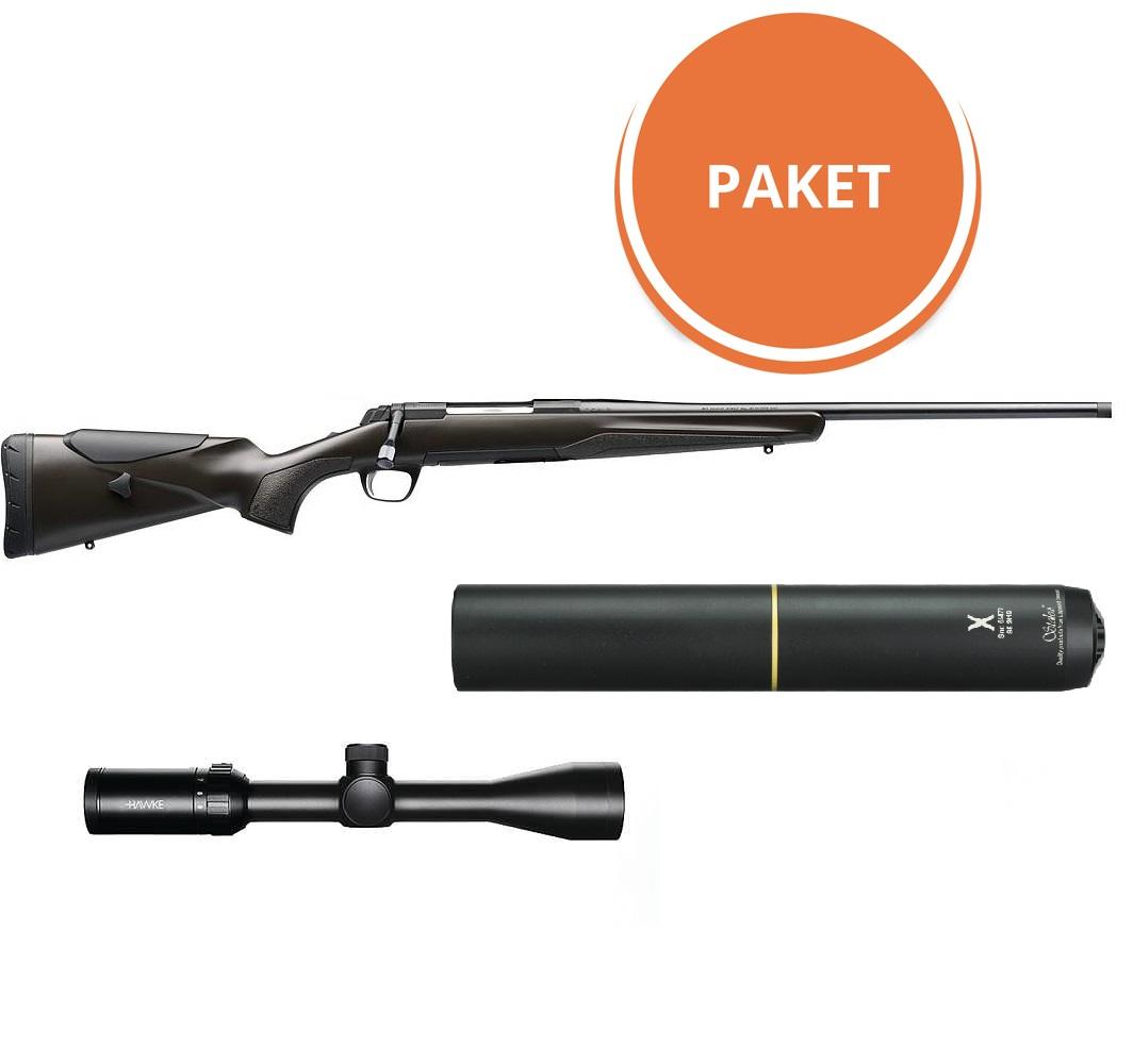 Browning X-Bolt Composite Brown Adjustable Paket
