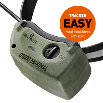 Halsband Tracker G1000, Easy