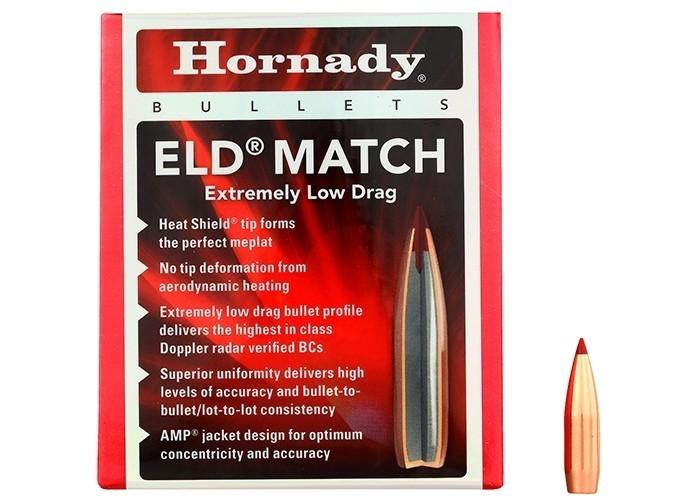Hornady Kula .30 10,9g ELD-Match