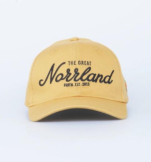 SQRTN Great Norrland 120 Cap Mustard