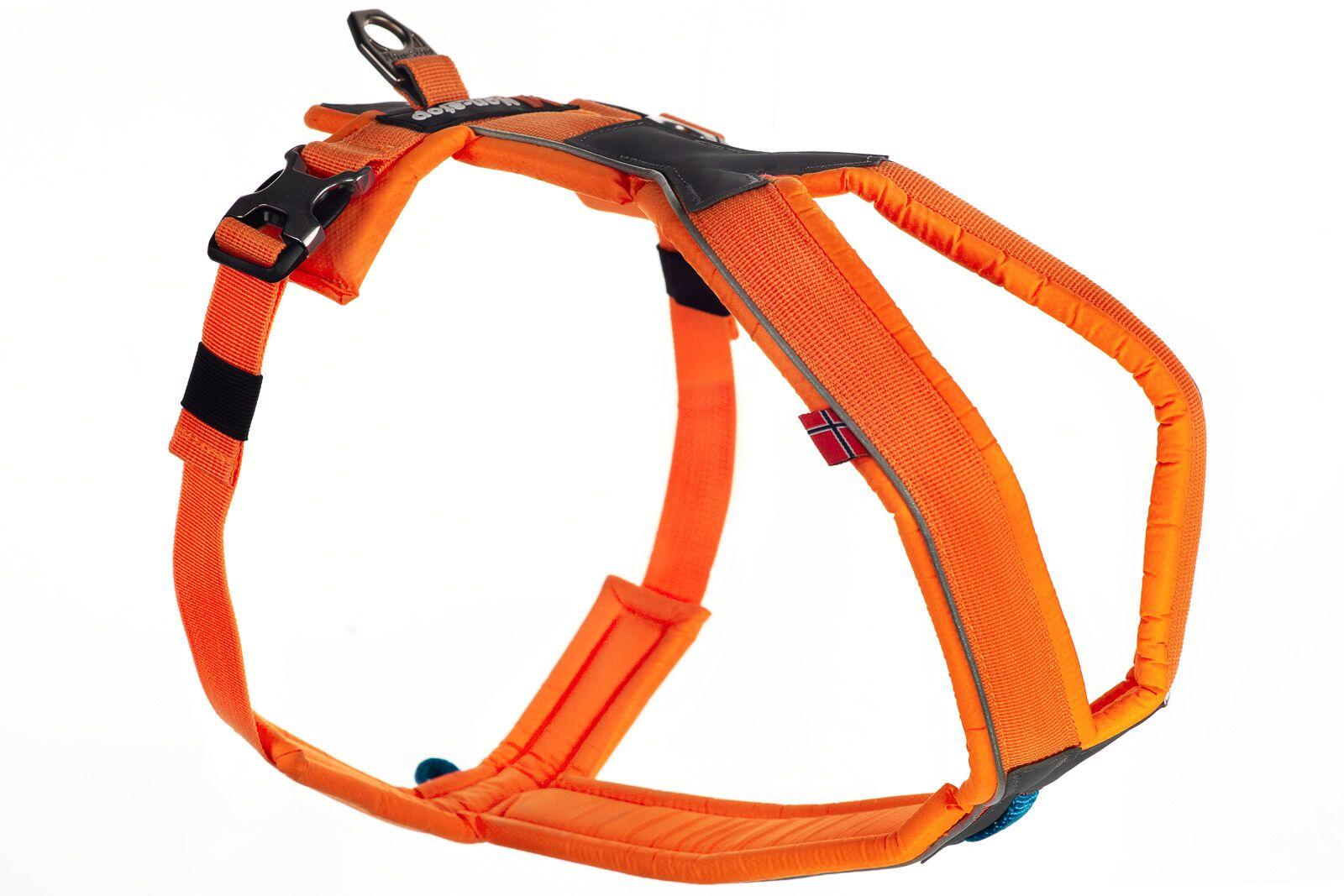 Non-Stop Line Cykel & Spårsele – Orange