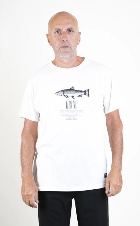 SQRTN Öring T-shirt White UTFÖRSÄLJNING
