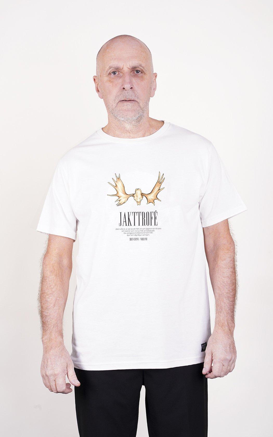 SQRTN Jakttrofé T-shirt White