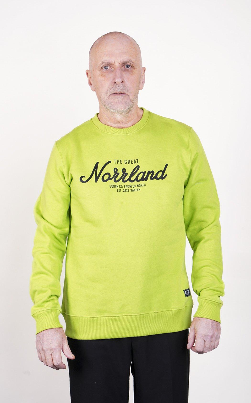 SQRTN Great Norrland Crewneck Green