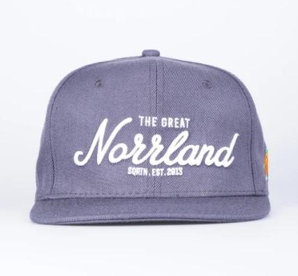SQRTN Great Norrland Cap Charcoal