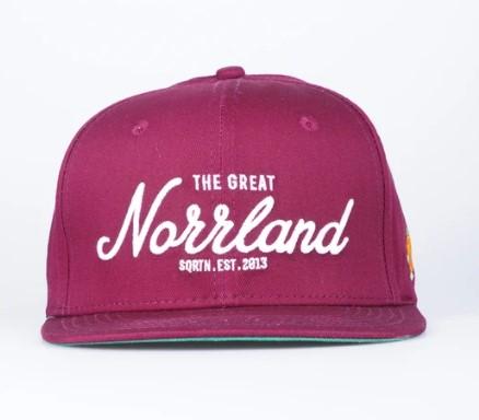 SQRTN Great Norrland Cap Maroon